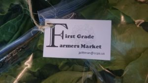 First grade Farmers Market