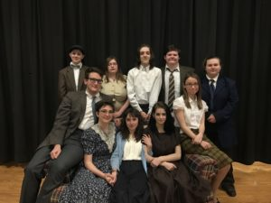 The Cast of The Diary of Ann Frank